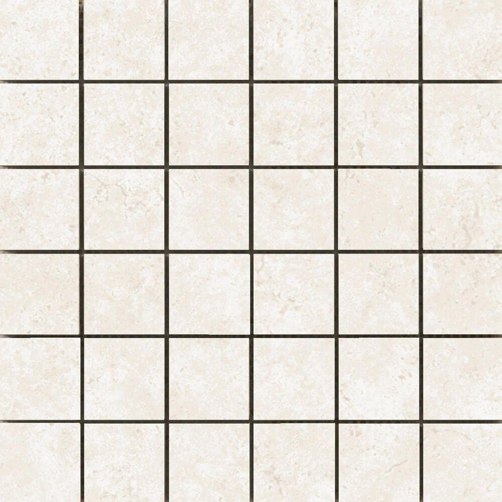 "Emser Tesola Cream 2"" x 2"" Square on 12"" x 12"" Ceramic Mosaic Sheet, , large"