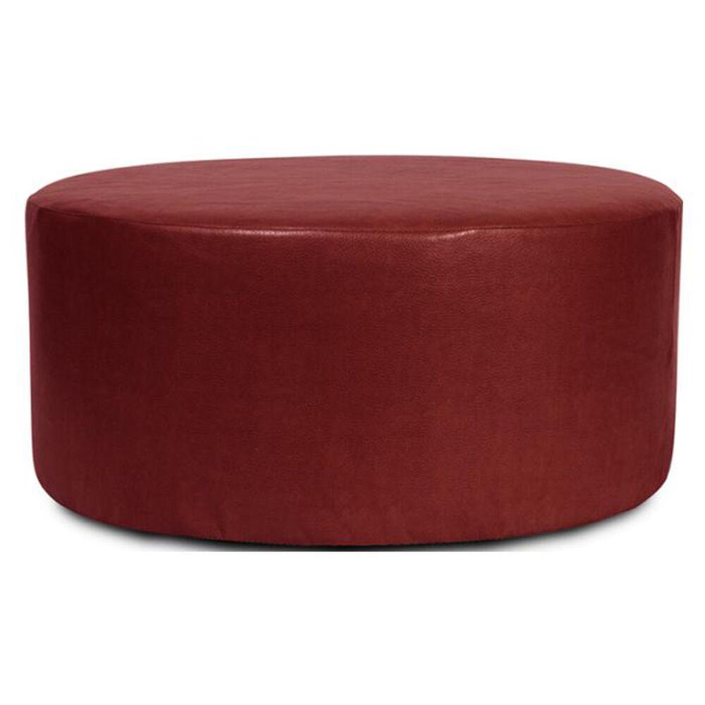 """Howard Elliott Universal 36"""" Round Ottoman in Avanti Apple, , large"""