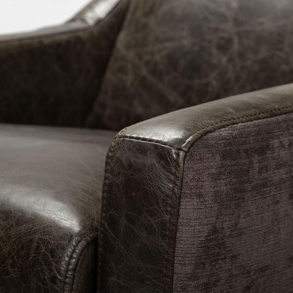 Mercana Abbott Swivel Chair in Brown, , large