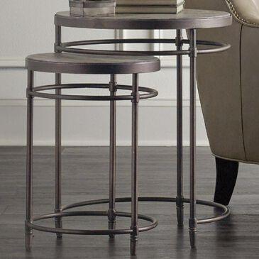 Hooker Furniture Saint Armand Nesting Table Set in Rustic, , large