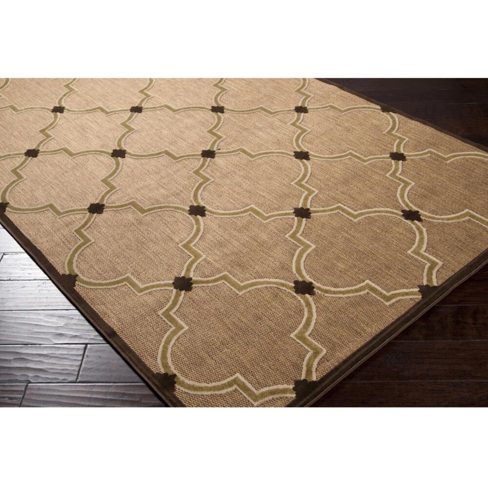 """Surya Portera PRT-1048 8'8"""" x 12' Brown, Beige and Camel Area Rug, , large"""
