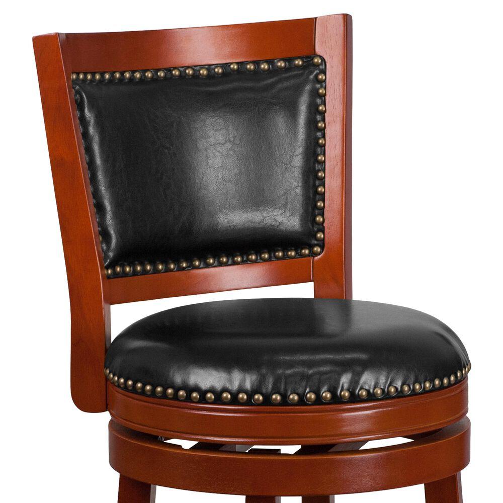 "Flash Furniture 30"" Swivel Barstool in Black, , large"