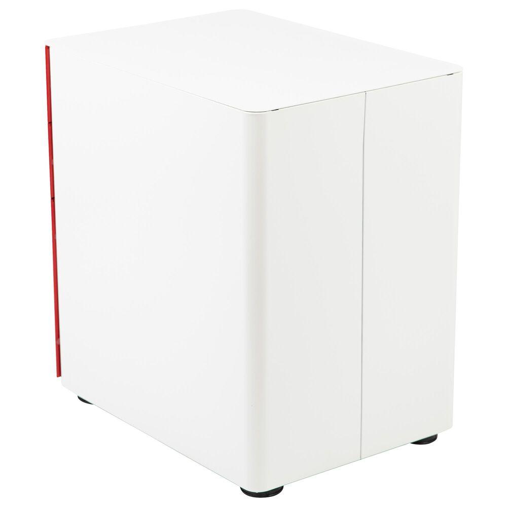 Flash Furniture 3-Drawer Mobile File in Red, , large