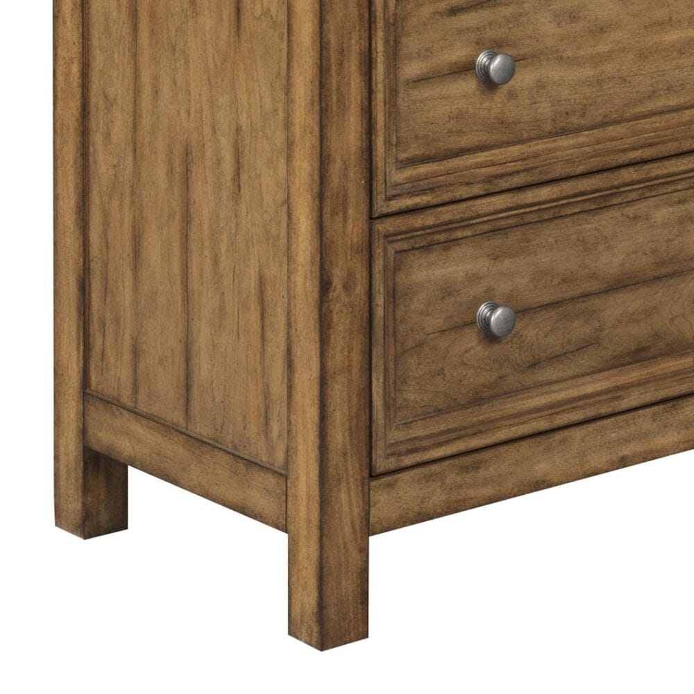 Homestyles Sedona 3-Drawer Chest in Toffee, , large