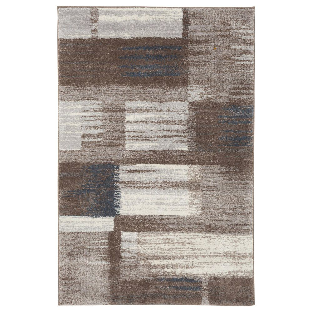 "Central Oriental Structures Torrent Quti 6256CPA 5' x 7'6"" Cloud and Parchment Area Rug, , large"