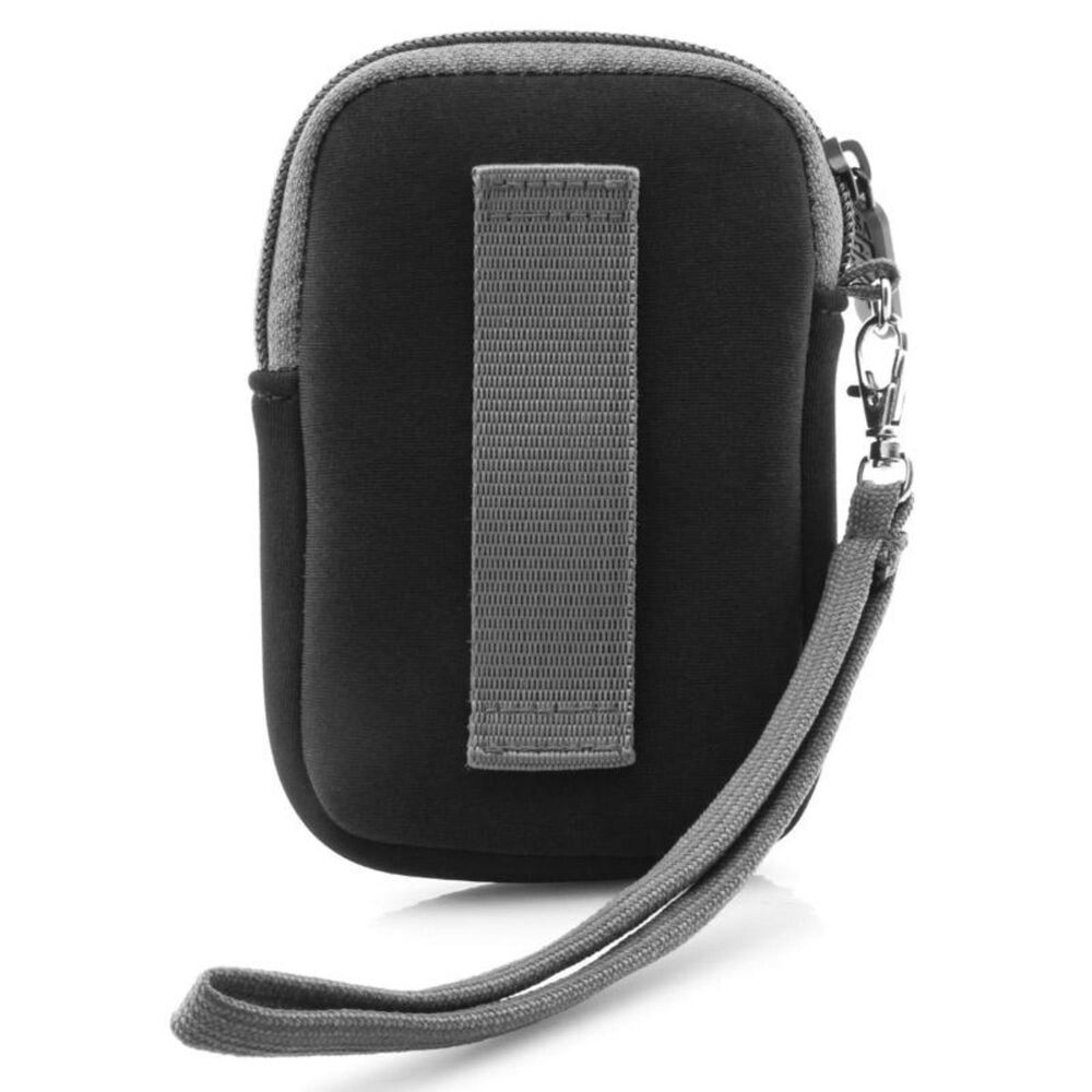 USA Gear Compact Digital Camera Carrying Case with Neoprene Cushion, , large