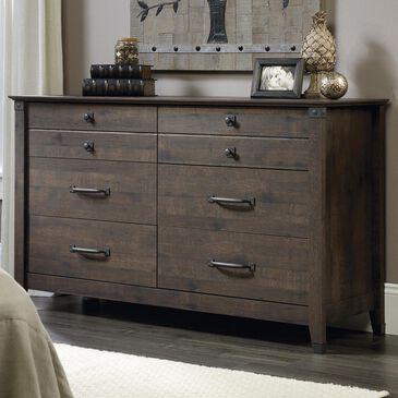 Sauder Carson Forge 6 Drawer Dresser in Coffee Oak, , large