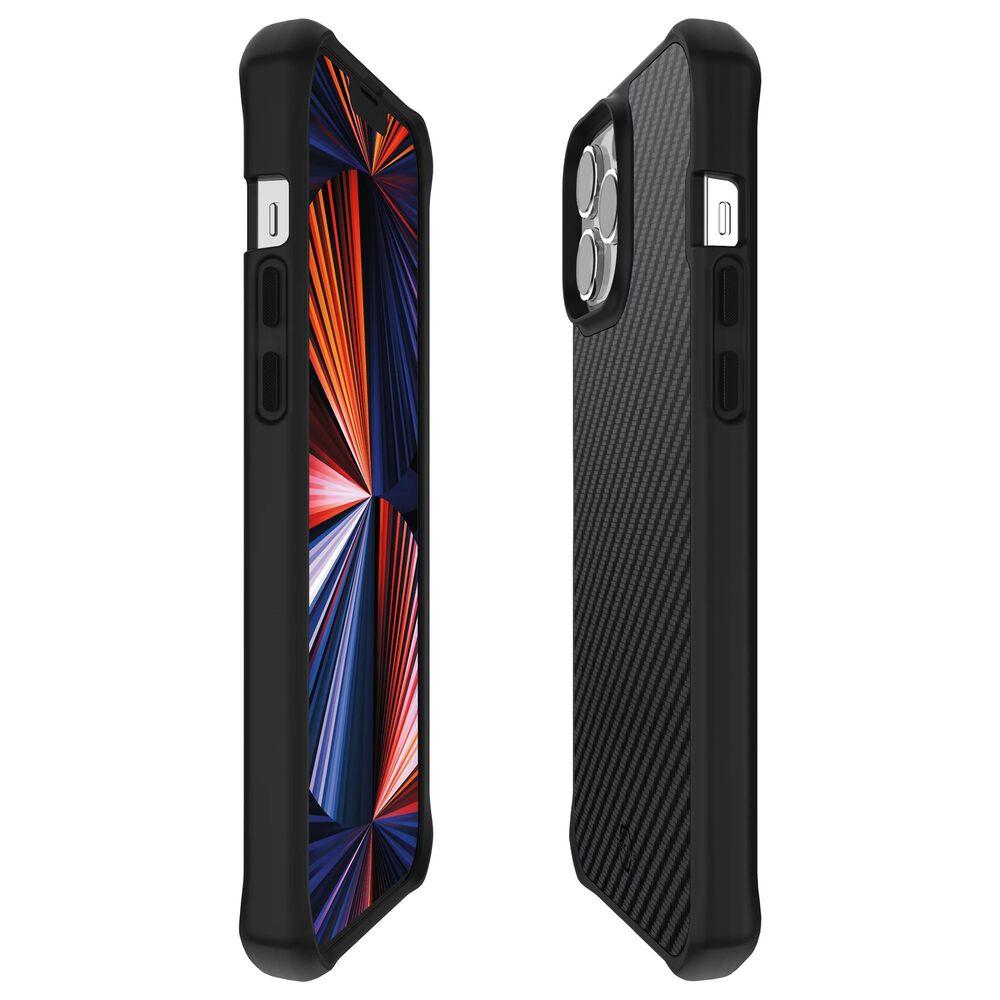ITSkins Hybrid Carbon Case for Apple iPhone 13 Pro in Carbon, , large