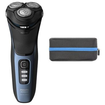 Philips Norelco Wet and Dry Electric Shaver 3500 in Black, , large