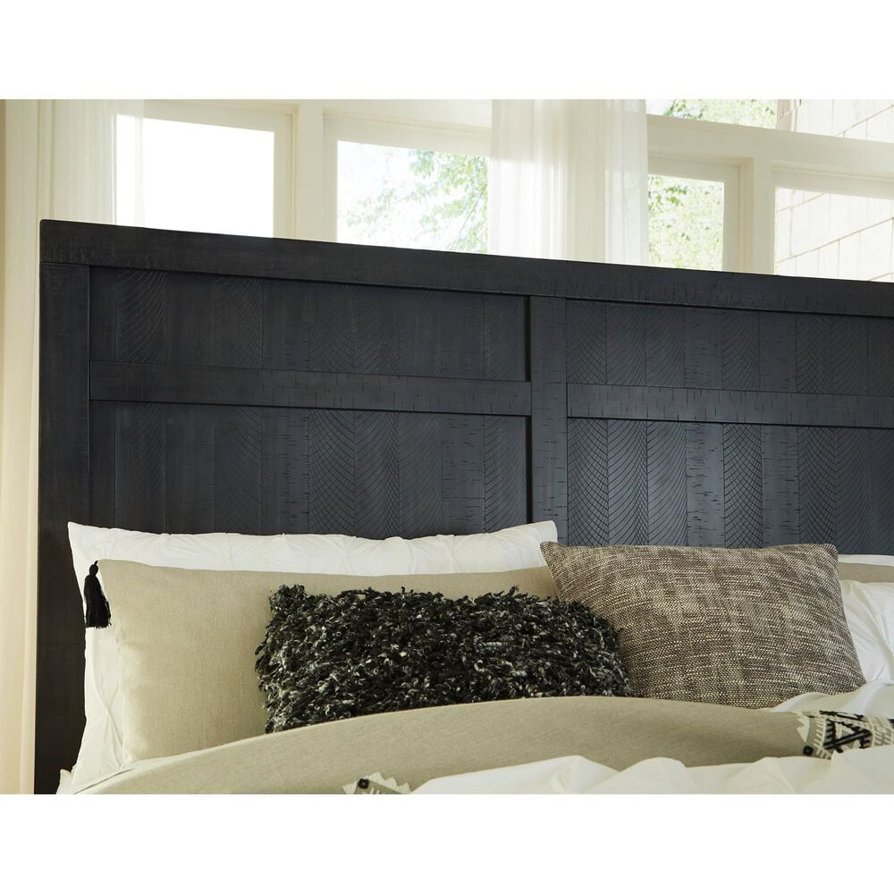 Signature Design by Ashley Noorbrook King Bed in Black, , large