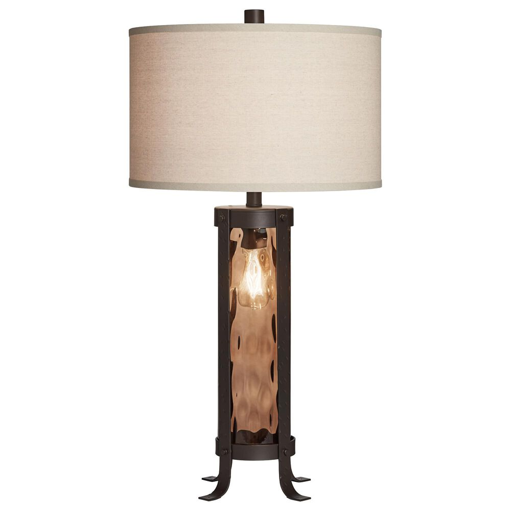Pacific Coast Lighting Ashford Table Lamp in Amber, , large