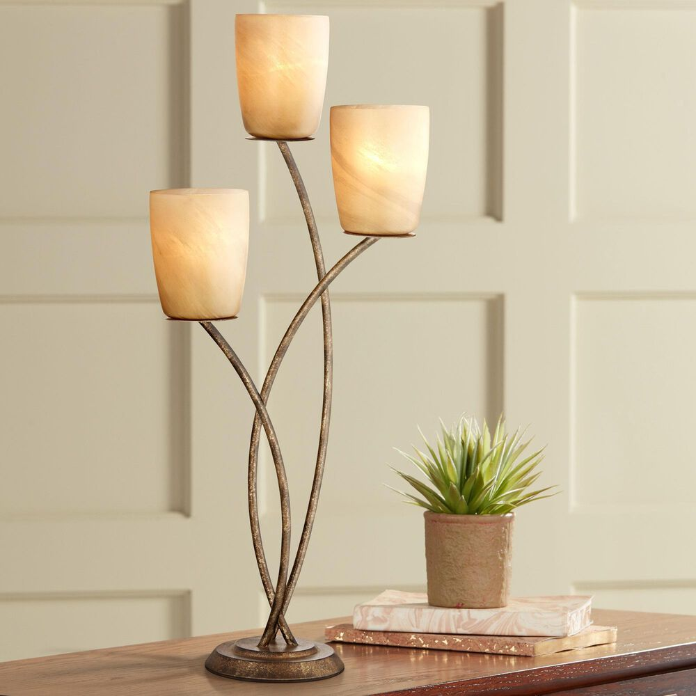 Pacific Coast Lighting Industrial Metro Plaza Uplight Table Lamp in Copper Bronze and Gold, , large
