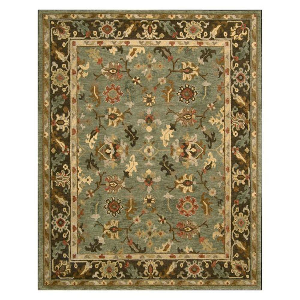 "Nourison Tahoe TA10 5'6"" x 8'6"" Green Area Rug, , large"