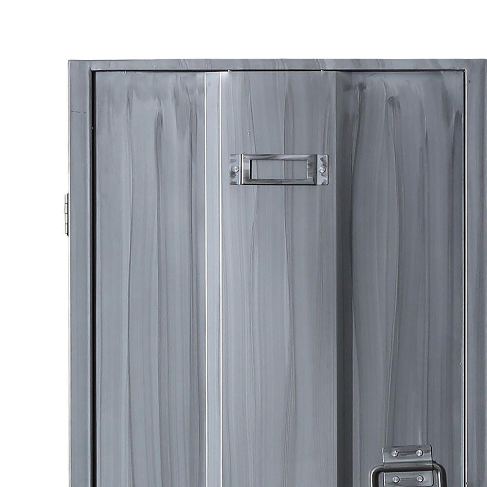 Furniture of America Cohen Storage Locker in Silver, , large