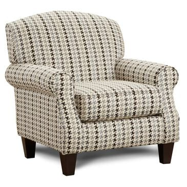 Xenia Accent Chair in Haberdashery Flannel, , large