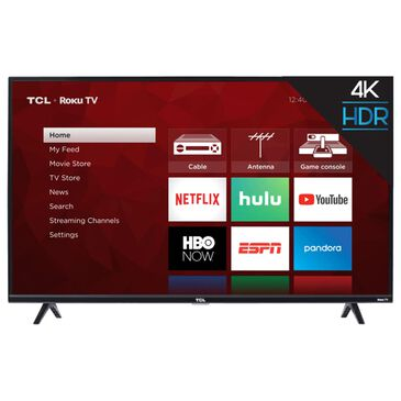 """TCL 43"""" Class 4K UHD HDR Roku - Smart TV, , large"""