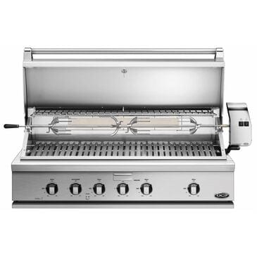 "Fisher and Paykel 48"" Traditional Natural Gas Grill with Rotisserie in Stainless Steel, , large"