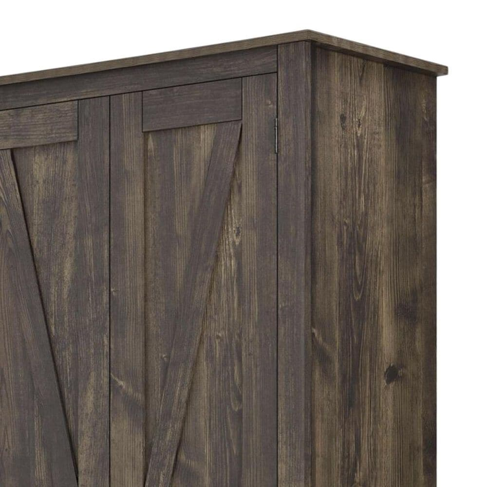 """DHP Winthrop 30"""" Wide Storage Cabinet in Rustic, , large"""