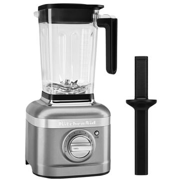 KitchenAid 5 Speed 56oz Blender with Tamper in Contour Silver, , large
