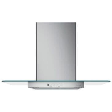"""Cafe 36"""" Wall-Mount Glass Canopy Chimney Hood in Stainless Steel, , large"""