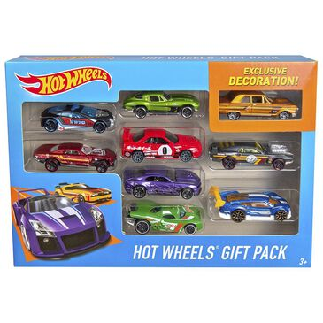 Hot Wheels Gift Pack - 9 Assorted Die-Cast Vehicles, , large