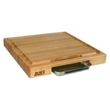 John Boos and Co Newton Prep Master Rectangle Cutting Board in Maple, , large