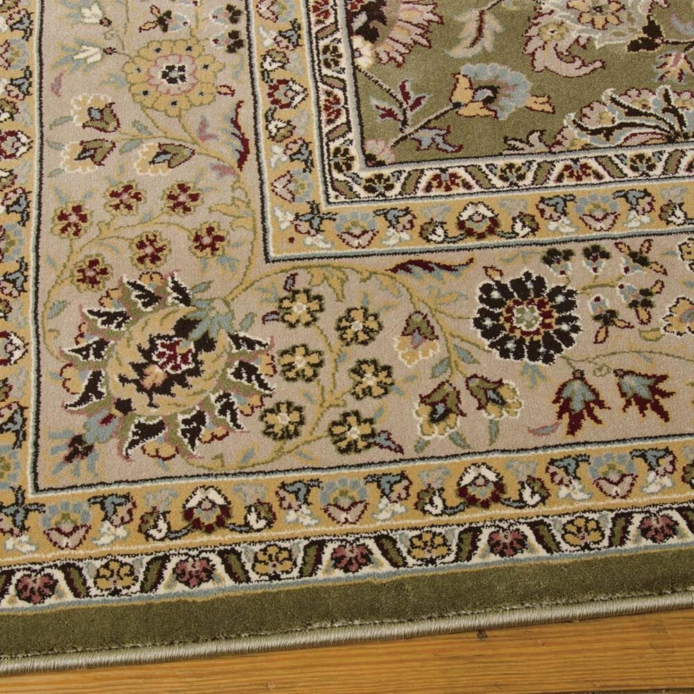 "Nourison Antiquities ANT04 K/I 2'2"" x 7'6"" Sage Runner, , large"