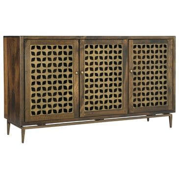 """Hooker Furniture 60"""" Entertainment Console in Brown, , large"""