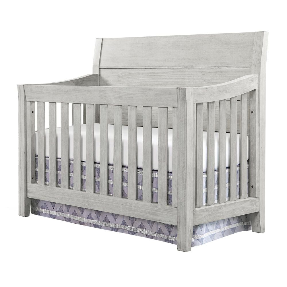 Eastern Shore Timber Ridge Convertible Crib in Weather White, , large