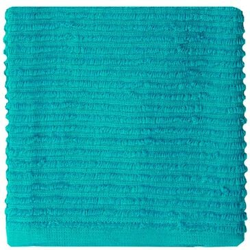Mukitchen Ridged Cotton Dish Cloth in Aquamarine, , large