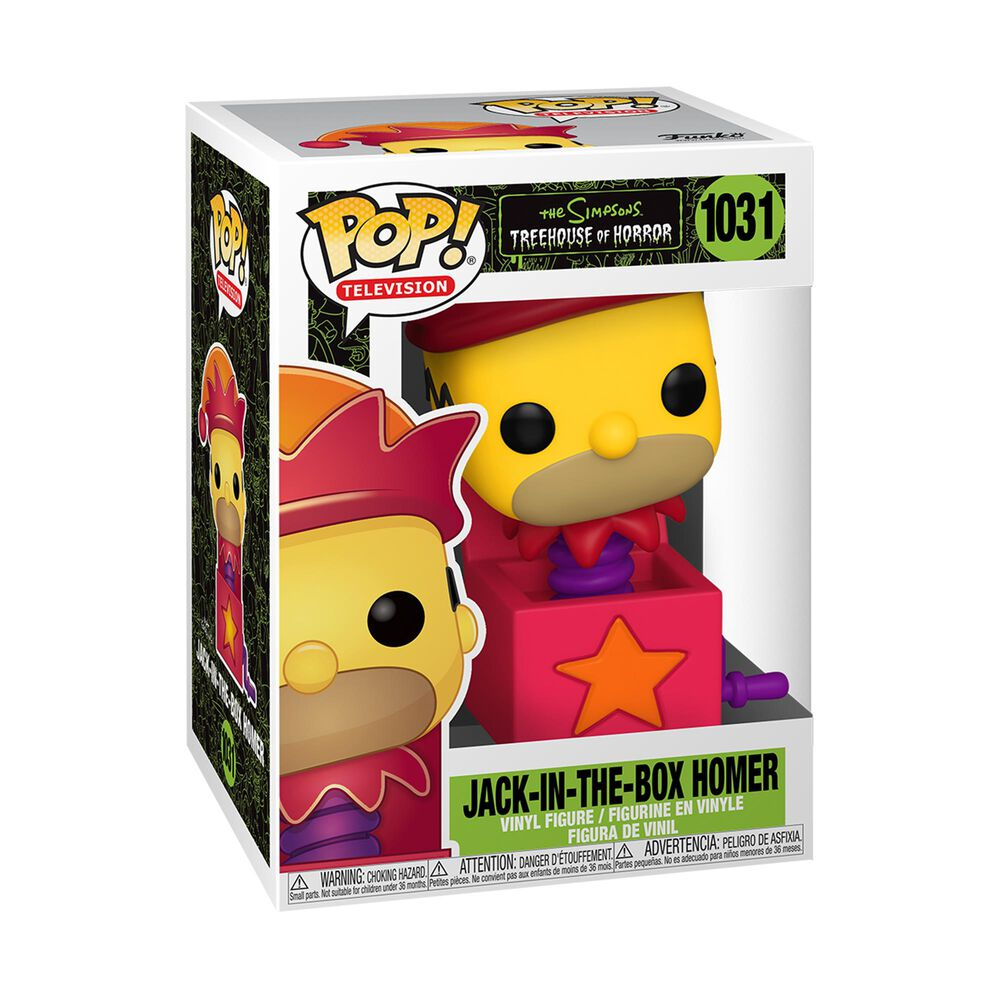 Funko Pop! Animation: Simpsons Jack-In-The-Box Homer, , large