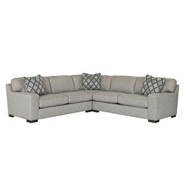 Fulton Home Wellesley 3-Piece Sectional in Platinum, , large