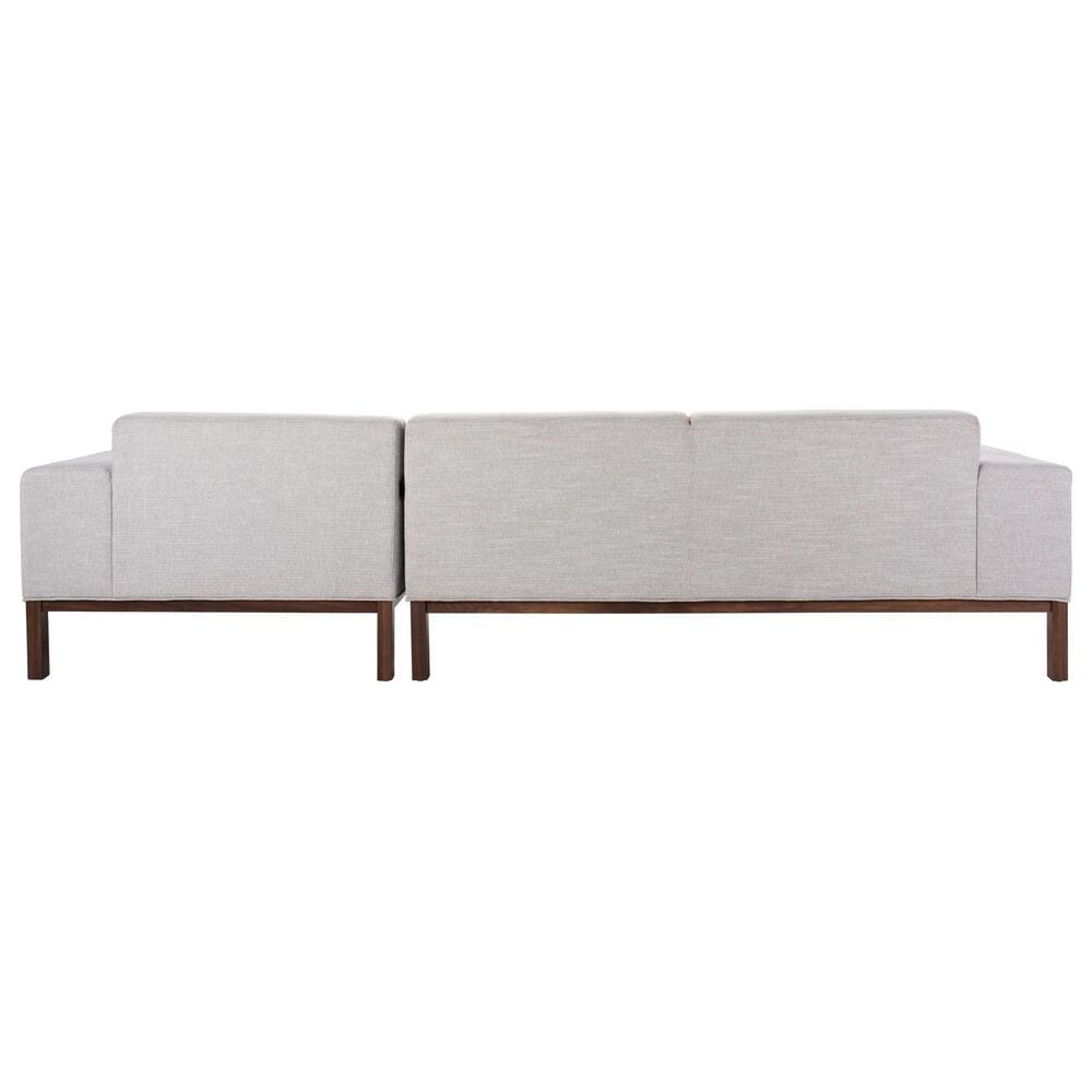 Safavieh Dove Sectional in Light Grey, , large