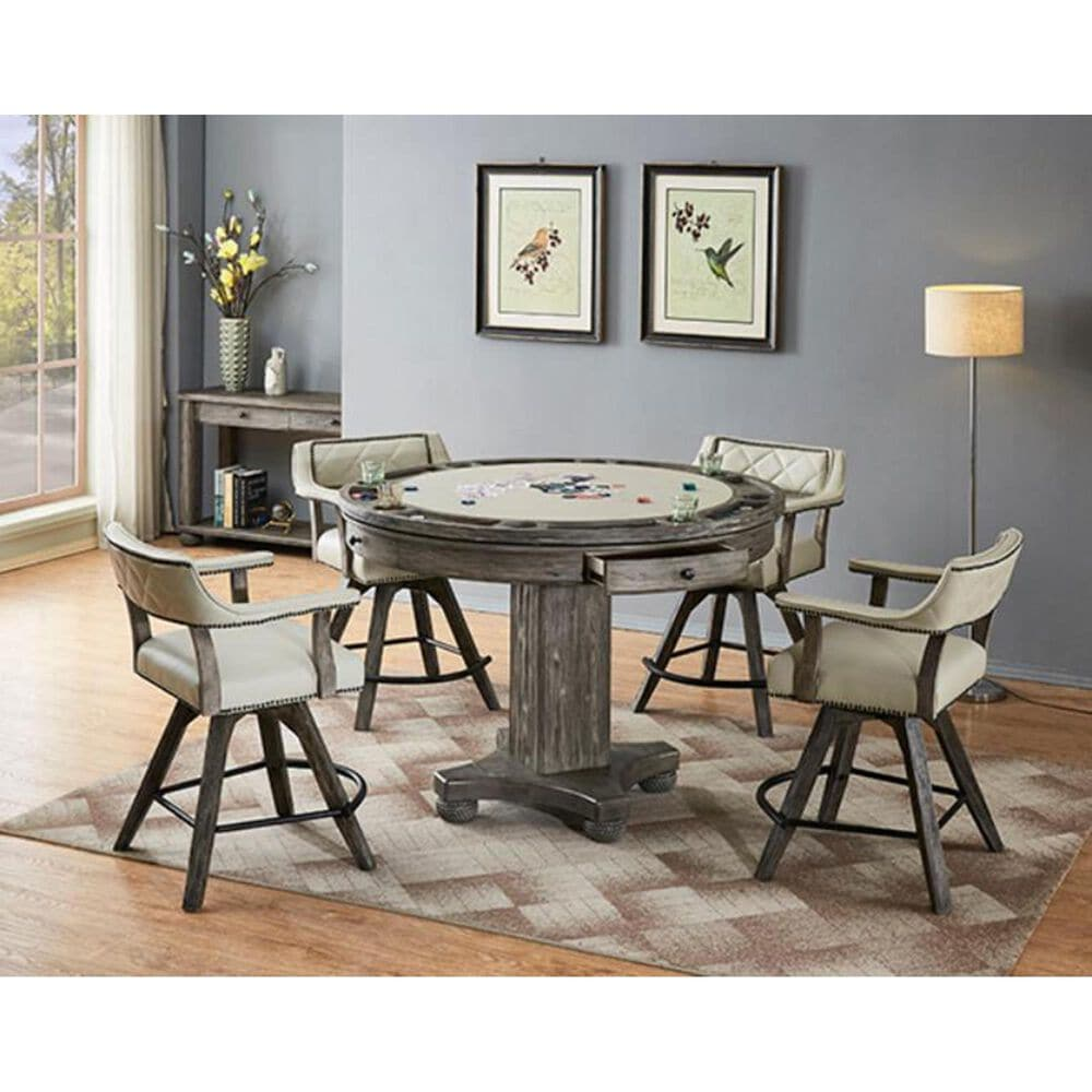 Radius Licensed Round Gaming Table - Table Only, , large