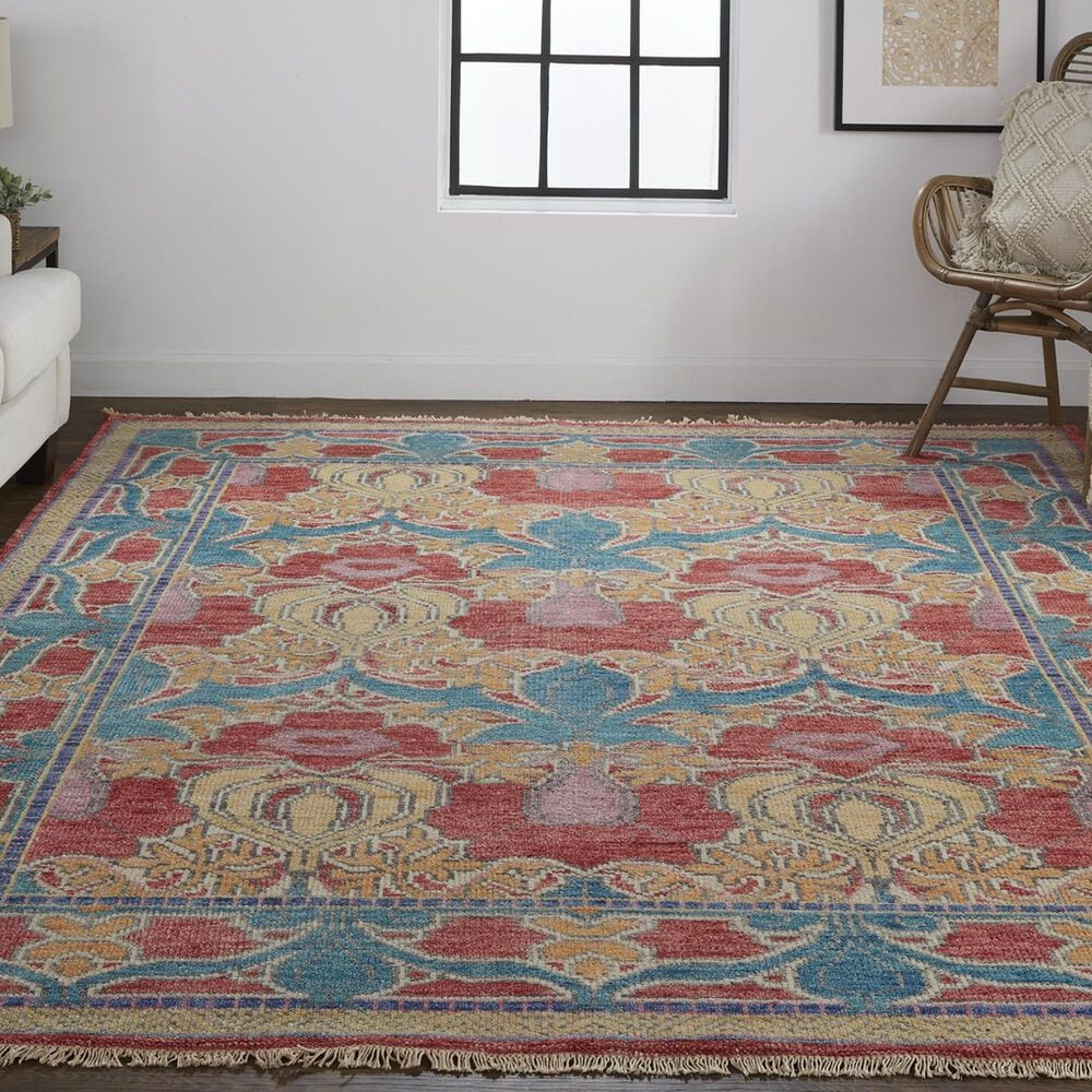 """Feizy Rugs Beall 5'6"""" x 8'6"""" Multicolor Area Rug, , large"""