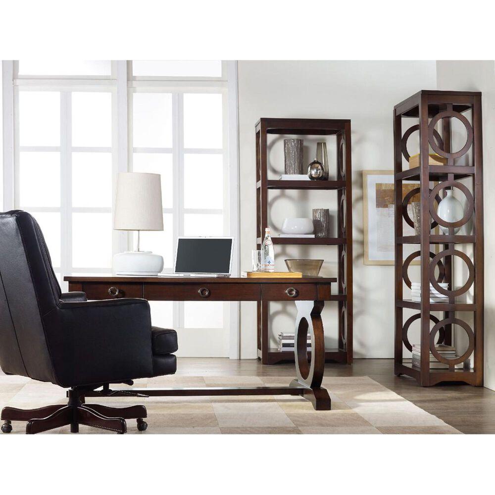 Hooker Furniture Kinsey Etagere in Dark Wood, , large