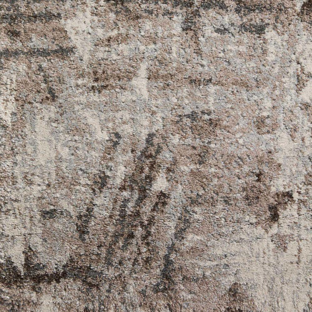"Loloi II Austen AUS-03 6'7"" x 9'2"" Natural and Mocha Area Rug, , large"