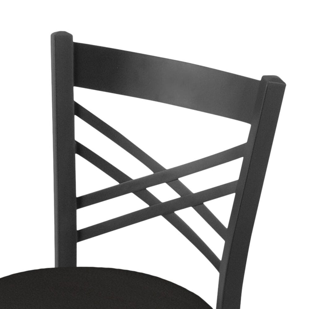 """Holland Bar Stool 620 Catalina 18"""" Chair with Pewter and Canter Espresso Seat, , large"""