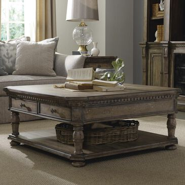Hooker Furniture Sorella Rectangle Coffee Table in Taupe, , large