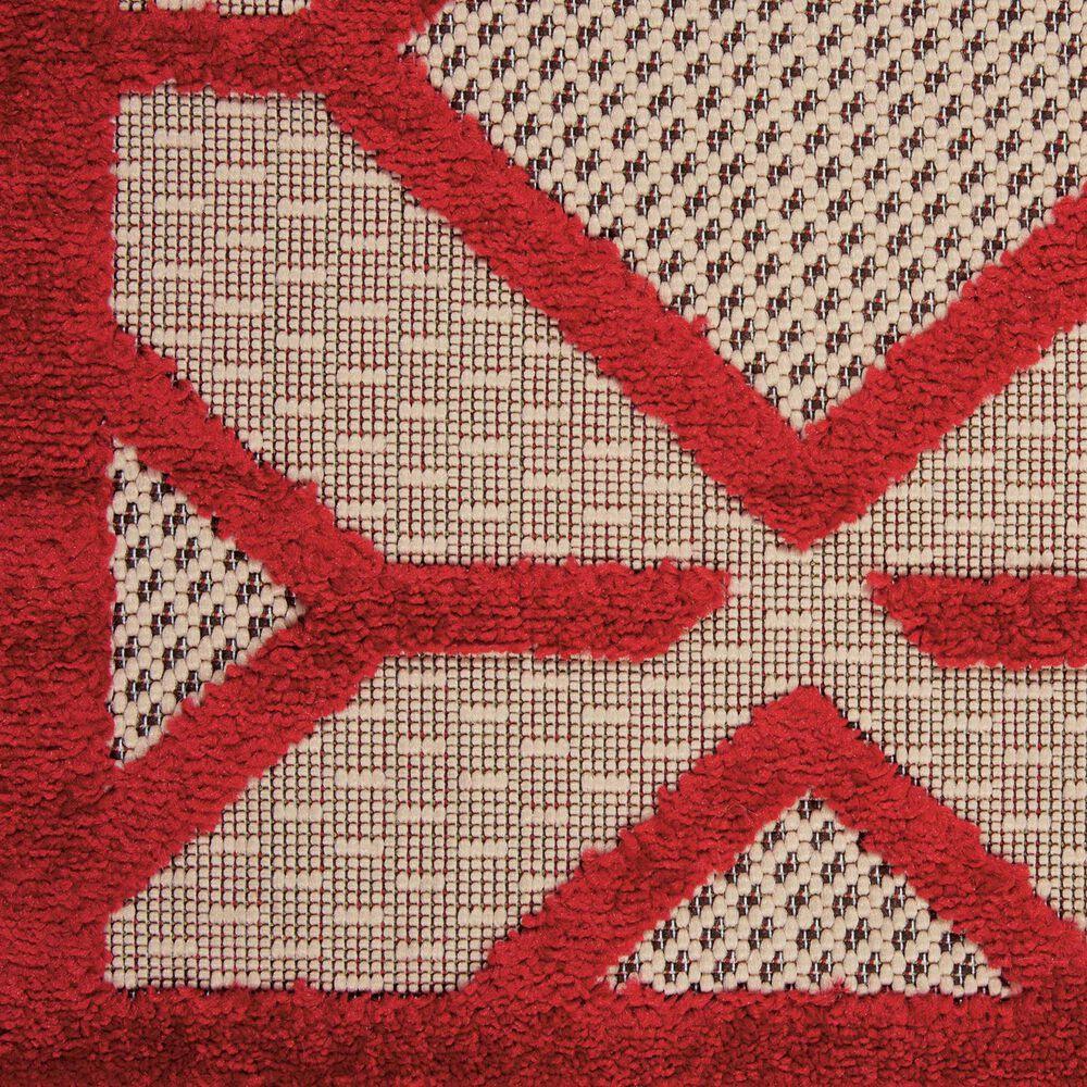 "Nourison Aloha ALH03 9'6"" x 13' Red Area Rug, , large"