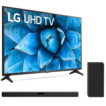 "LG 55"" Class 4K LED Ultra Smart UHD - Smart TV with 2.1 Channel Soundbar System, , large"