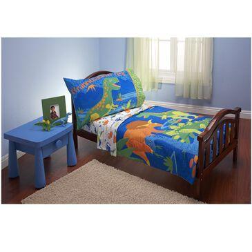 Crown Crafts Dinosaurs 4 Piece Toddler Bed Set , , large
