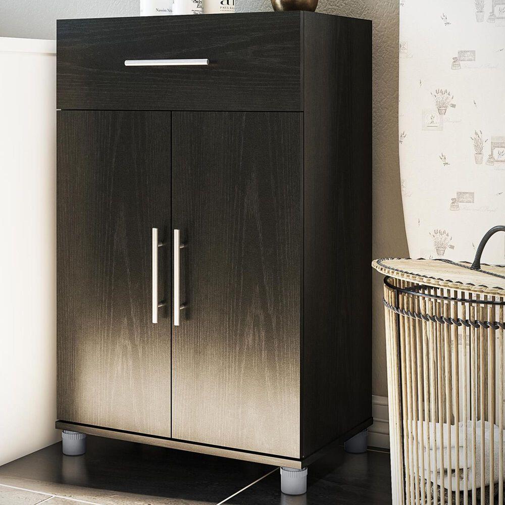 Ameriwood Furniture Elmsworth 2-Door Storage Cabinet in Black Oak, , large