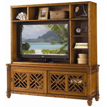 Tommy Bahama Home Island Estate Nevis Media Console and Hutch, , large