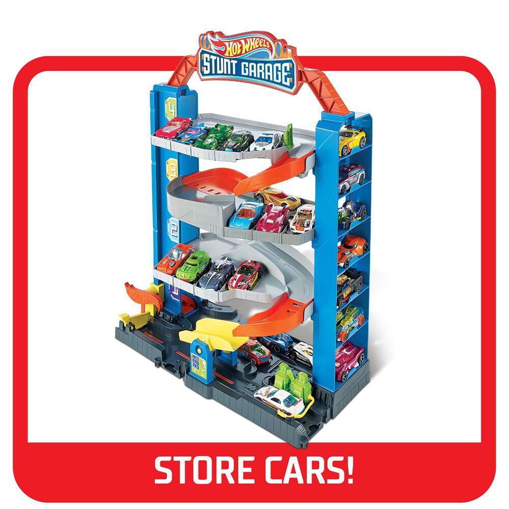 Mattel Hot Wheels City Stunt Garage Playset, , large