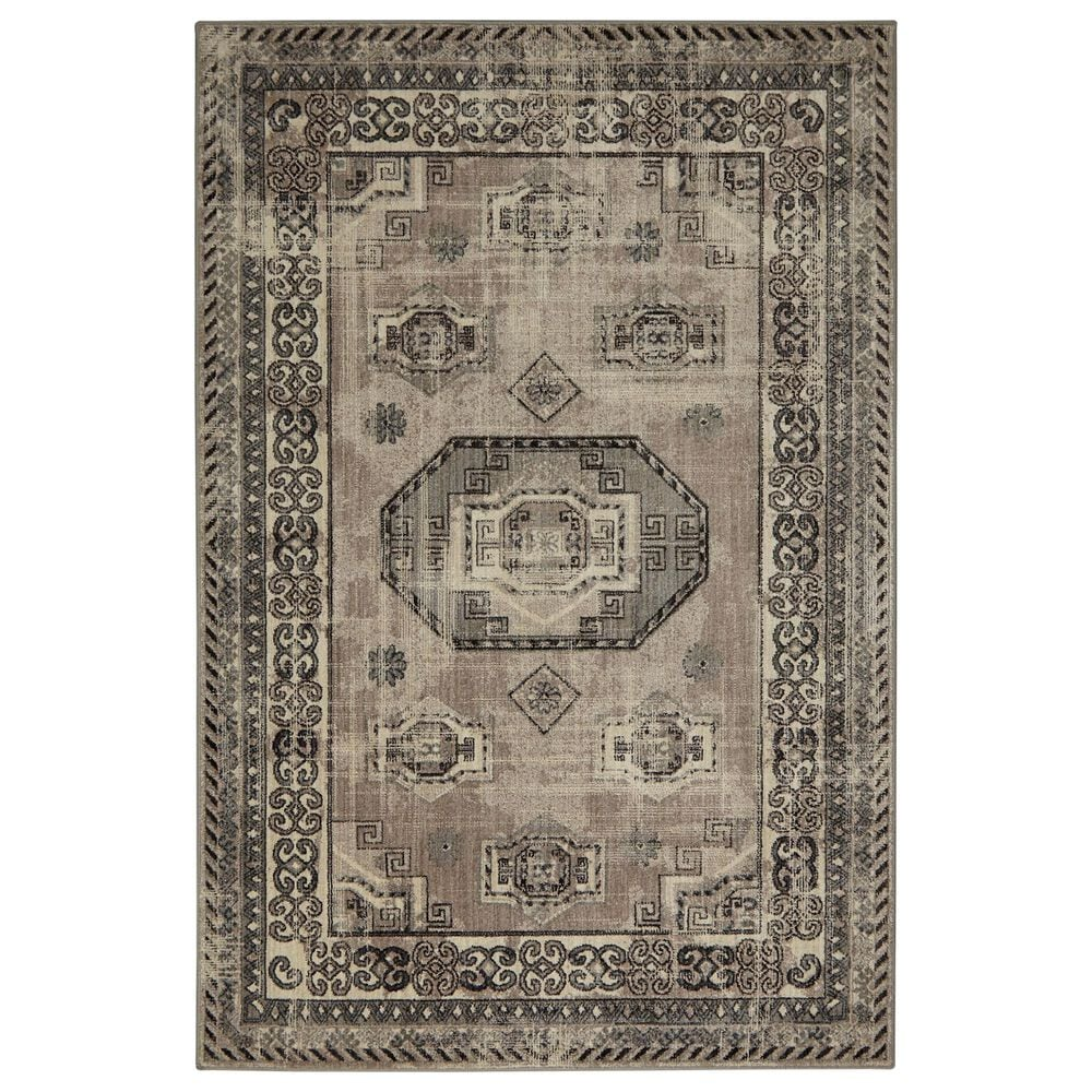 "Karastan Studio 91925 9'6"" x 12'1"" Gray Area Rug, , large"