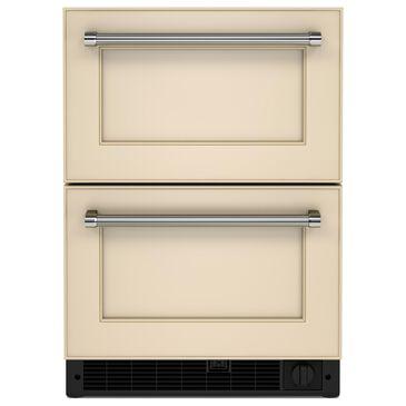 "Whirlpool 24"" Panel-Ready Undercounter Double-Drawer Refrigerator Freezer, , large"