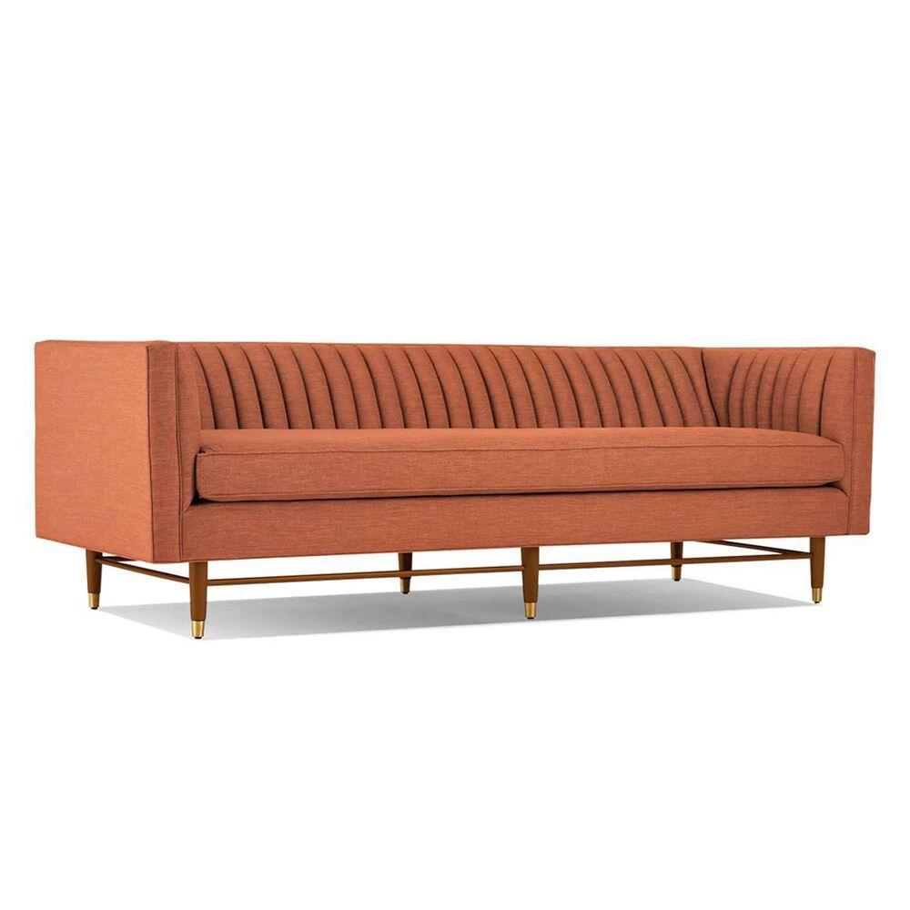 Joybird Chelsea Stationary Sofa in Plush Terra Rose Velvet, , large