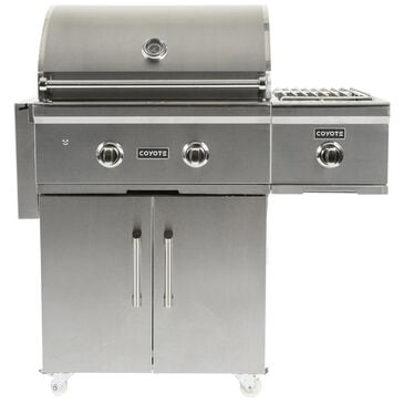 """Coyote Outdoor 28"""" C-Series Liquid Propane Grill with Cart in Stainless Steel, , large"""