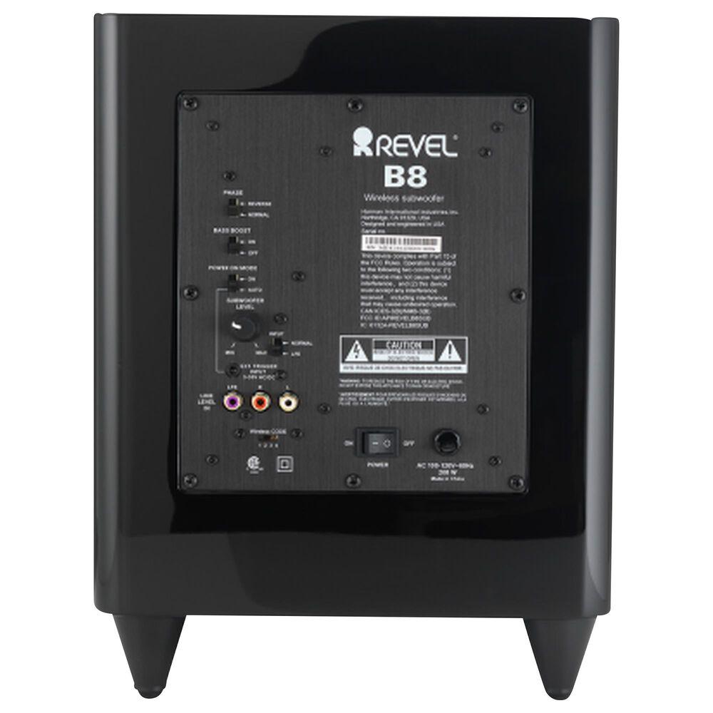 "Revel 8"" Wireless Subwoofer in Black, , large"